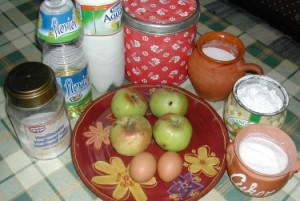 Bundás alma - Hozzávalók