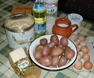 Rakott krumpli - Hozzávalók