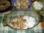 Rakott krumpli - Prézliréteg