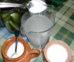 Csemegeuborka - 4 teáskanál só, 8 evőkanál cukor