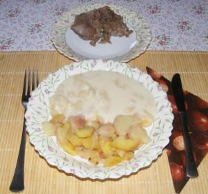 Almaszósz - Kész, tányérban