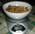 Diós tészta - Mérd ki a 20 dkg diót!