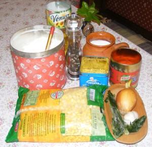 Kukoricaleves - Hozzávalók