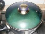 Zöldbabfőzelék - Fedő alatt 10 percig párold a zödbabot!