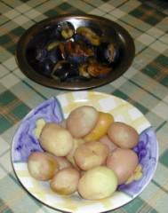 Szilvás gombóc - A szilva és a krumpli készen áll!