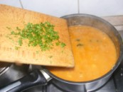 Zöldbabfőzelék - Kapard a petrezselymet a főzelékbe!