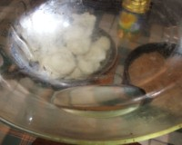 Rakott karfiol - az edény olajozása