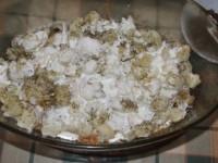 Rakott karfiol - második réteg karfiol