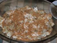 Rakott karfiol - második rétegre prézli