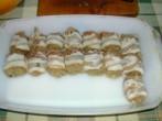 Mexikói tüzes húsgombócok - Ennyire futotta a szeletelt baconből!