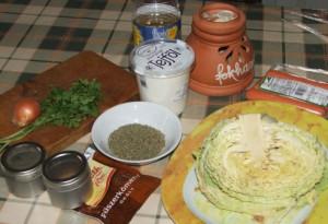 Frankfurti leves - hozzávalók