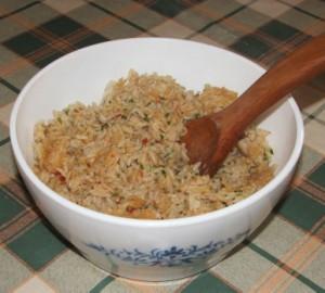 Rizs - kész