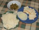 Pizza - Az előkészített sajt