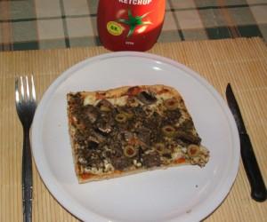 Pizza - Ketchup legyen a háznál!