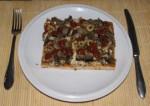Tartalomba - Pizza - tányéron