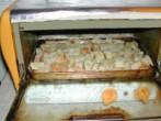 Köménymagleves - Tedd be a kenyérkockákat a minigrillbe pirulni!