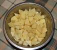 Gulyasleves - darabolt krumpli