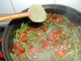 Andalúziai zöldbab - Szórd meg a zöldbabot borsikafűvel!
