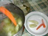 Húsleves - Egy villával halászd ki a fazékból a leveszöldségeket!