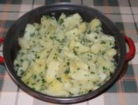 Petrezselymes krumpli - kész