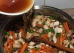 Zöldséges tofu - Öntsd hozzá a leveket!