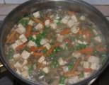 Zöldséges tofu - Öntsd hozzá a keményítőt!