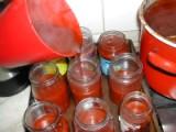 Csipkelekvár - Az üvegek feltöltése - 2.