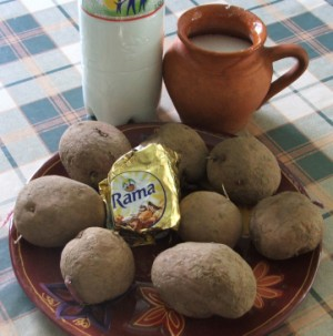 Törtkrumpli - Hozzávalók