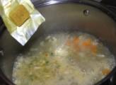Tavaszi zöldségleves - Ha forr a víz, tedd bele a leveskockát!