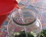 Kovászos uborka - Öntsd a langyos vizet az uborkára!