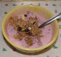 Joghurtos gabonapehely 2. - Epres joghurtos gabonapehely