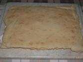 Túrós szelet - Készen van az első túrós sütemény-tábla!