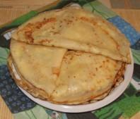 Túrós palacsinta - Kész, tányéron! (2)