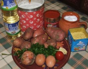 Paprikás krumpli - Hozzávalók