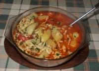 Paprikás krumpli - Tálaláshoz szedd át egy levesestálba!