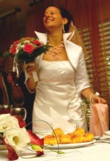 Túrós pogácsa - Kész, esküvőn.